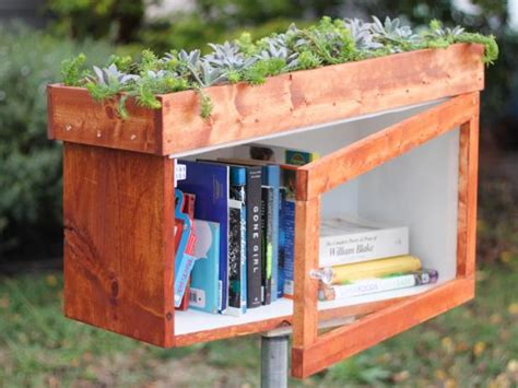 build   library box   living roof