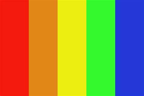 rainbow color palette tucna rainbow color palette