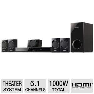 panasonic 5 1 channel 1000 watt dvd home theater system