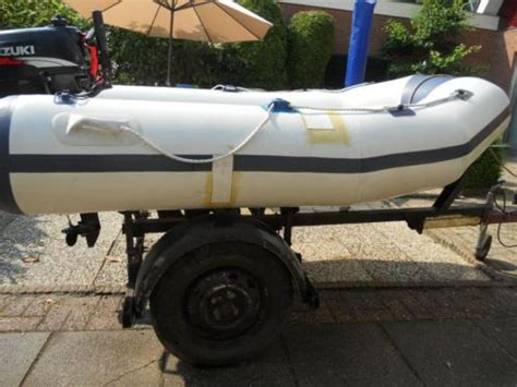 rubberboot met 4pk motor kopen rubberboot 4pk four strok en kanteltrailer advertentie