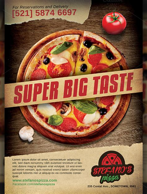 pizza sale flyer template pizza sale flyer template kb digital printing