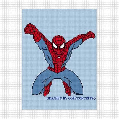 spiderman graph pattern pattern graph spiderman full crochet afghan pattern graph