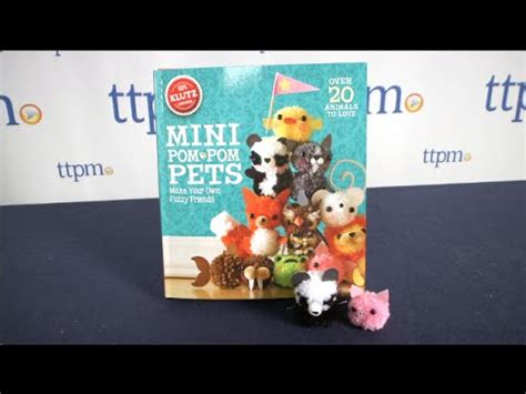 klutz mini pom pom pets instructions