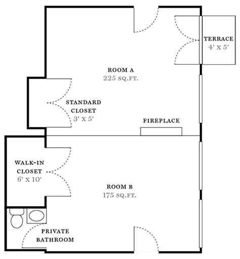 How To Find Square Footage Of Room by Floor Plan Miller Samuel Real Estate Appraisers