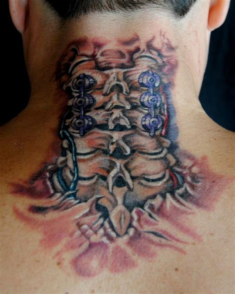 spinal cord tattoo designs spinal cord ripout by megan jean morris tattoonow