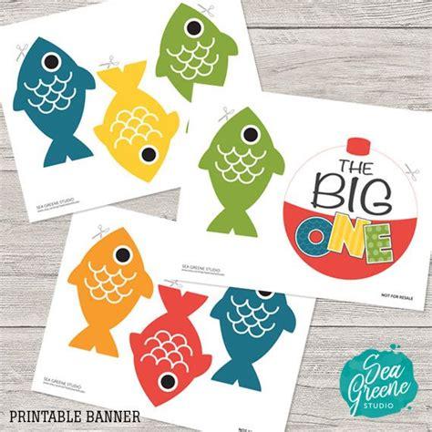 Printable Fish Banner   best 25 fish banner ideas on pinterest anchor birthday