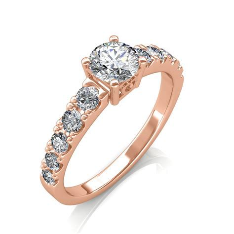 The True Love Ring   Solitaire Diamond Rings at Best