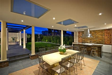 outdoor rooms melbourne magnificent outdoor kitchen designs