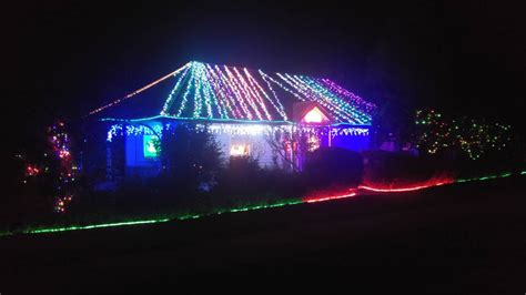 the courier christmas lights map ballarat