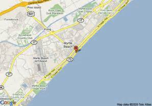 map of myrtle south carolina map of bay view resort myrtle