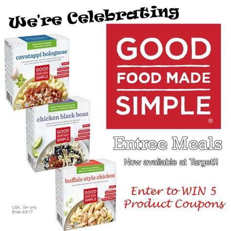 free printable grocery coupons in south africa win 5 free product coupons for good food made simple us