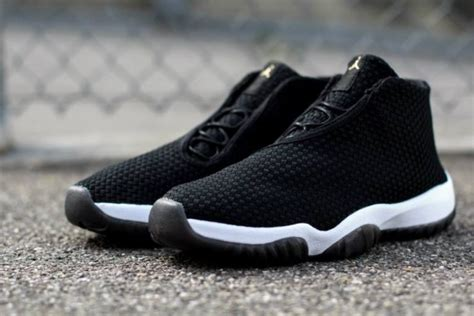 Footstep Futura Black this future quot black white quot pair is headed to