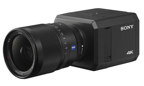 sony low light camera sony s 4k security camera can spot intruders in the dark