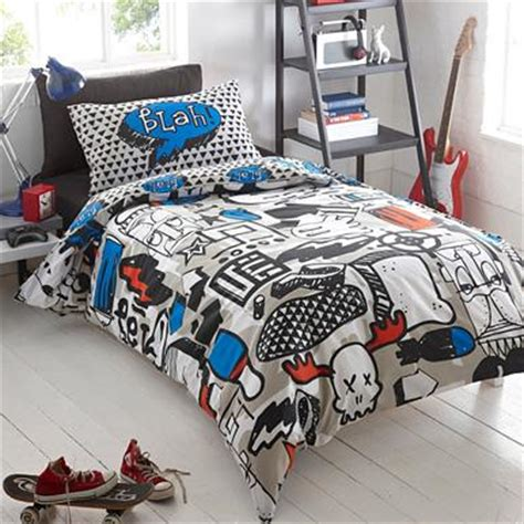 graffiti bedding grey graffiti print bedding set bedding debenhams com