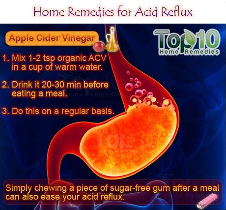 acid reflux home remedies for acid reflux gerd top 10 home remedies