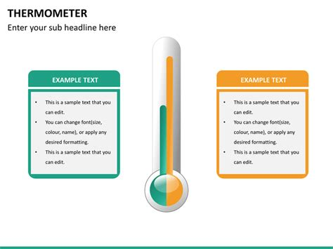 Powerpoint Thermometer Template Sketchbubble Thermometer For Powerpoint