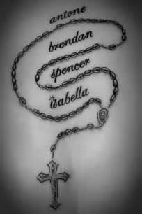 antone brendon spencer isabella rosary tattoo on back
