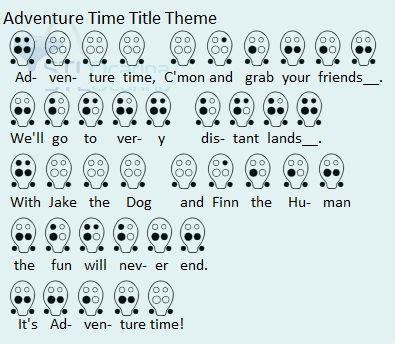 theme song adventure time adventure time title theme 6 hole photo 6 hole ocarina