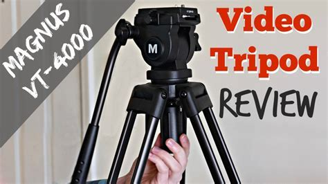 Best Budget Tripod for Video: Magnus VT 4000 Review