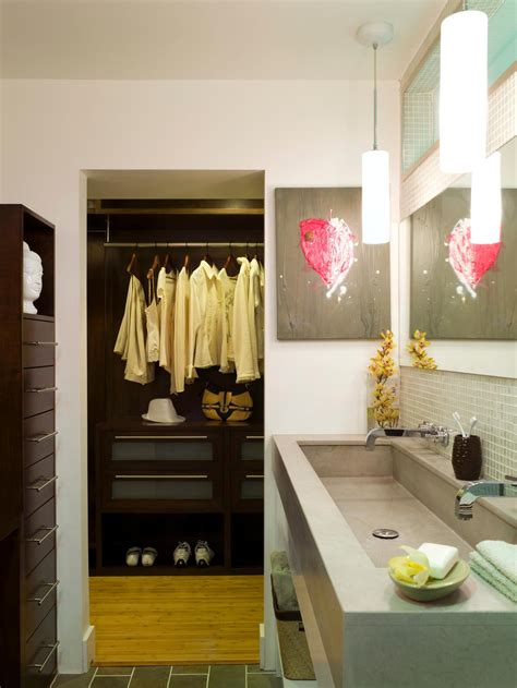 closet in bathroom photos hgtv