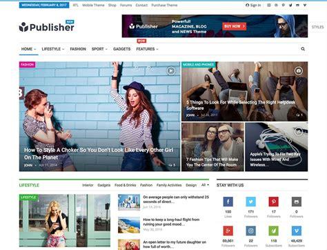 20 Best Adsense Optimized Wordpress Themes 2019 Best Magazine Website Templates