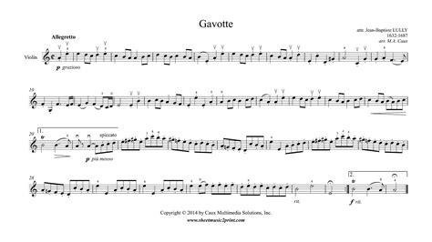 Suzuki Violin Piano Accompaniment Mp3 Lully Gavotte In A Minor Violin