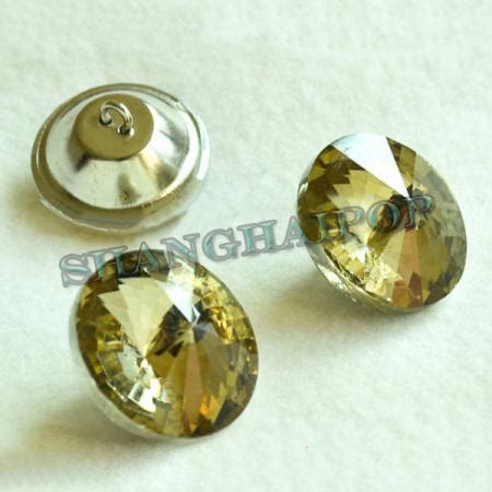 rhinestone upholstery buttons 20 x diamante buttons upholstery 20 30mm tea crystal