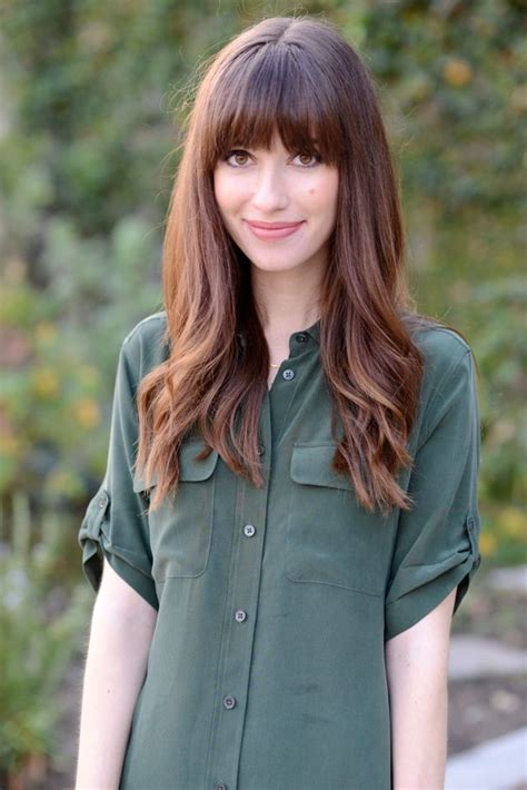 brunette hairstyles with fringe the 25 best brunette bangs ideas on pinterest hair with