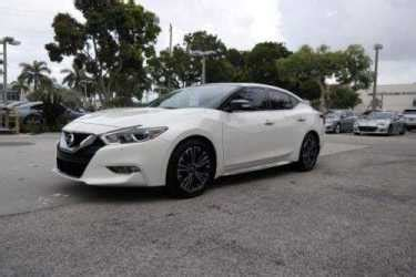 nissan maxima white 2016 nissan maxima platinum white for sale craigslist