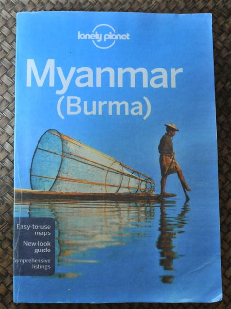 libro lonely planet myanmar burma some recommended viewing and reading