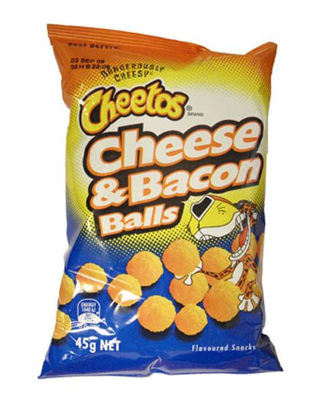 cheetos cheese and bacon balls | australian chips