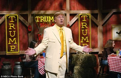 donald trump house of wings donald trump heads back to nbc and will host saturday night live on nov 7 daily mail