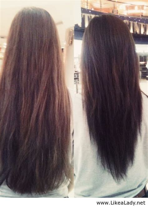 layering hair versus tapering hair v layered haircut before and after pinning for when my