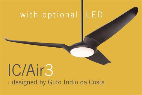 modern fan ic air3 modern ceiling fans contemporary ceiling fans led