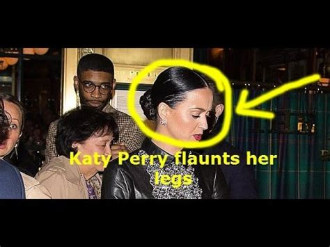 latest hollywood gossip and news katy perry flaunts her legs in thigh skimming edgy