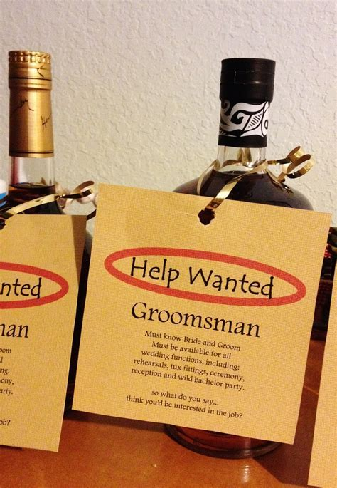 groomsman proposal   ruiz wedding