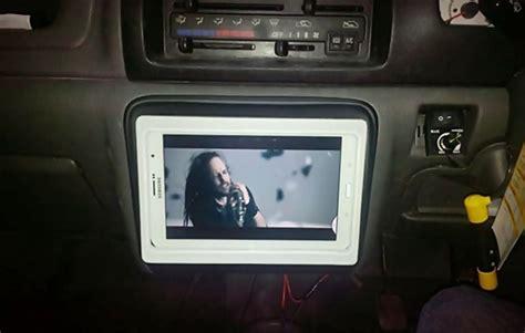 Tv Lcd Untuk Di Mobil pojok ngoprek tablet sebagai pengganti unit mobil