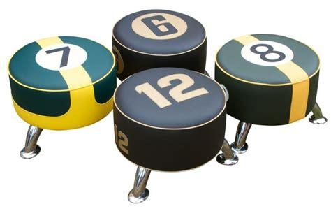 automotive themed bar stools 20 car inspired interior d 233 cor ideas for automotive fans