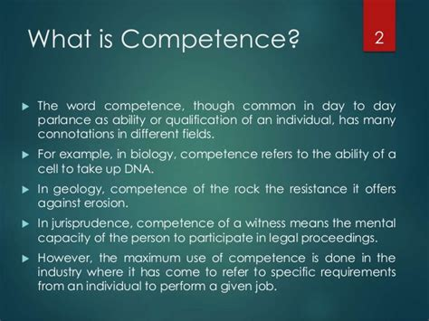 Word Blindness The Difference Between Competence And Competency