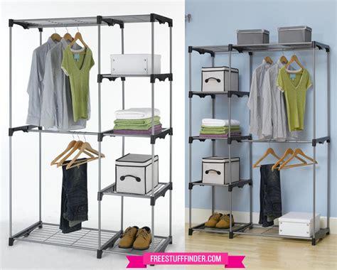 29 99 free standing closet organizer free shipping