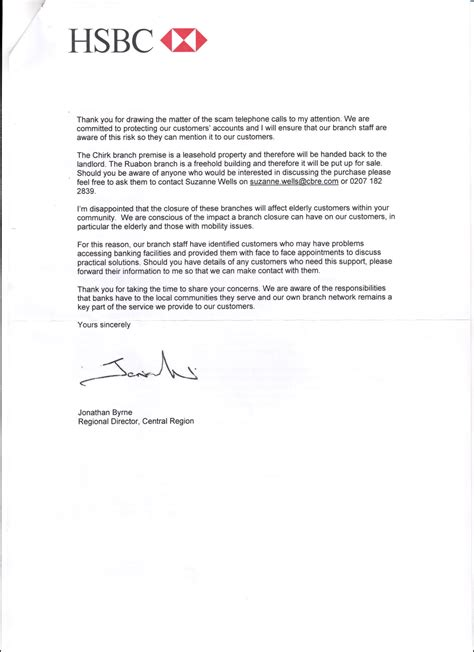 closing bank account letter hsbc llanblogger contact llanblogger gmail mp furious