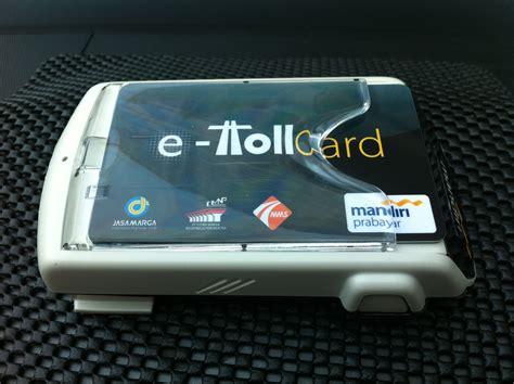 Tongkat E Toll 2 Kartu 2 Sisi Depan Belakang pintu toll macet panjang e toll card solusinya