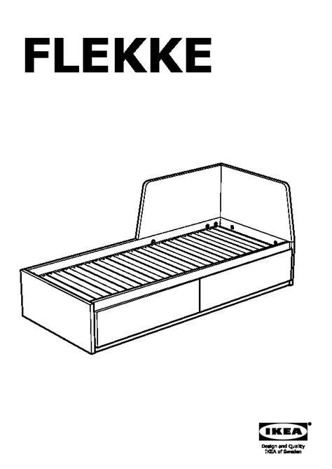 struttura letto divano flekke struttura letto divano 2 cassetti marrone nero