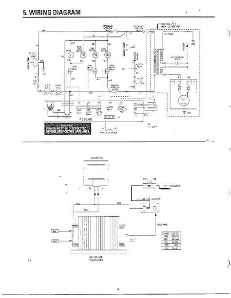 samsung microwave parts diagram samsung microwave parts model mc6566w xaa