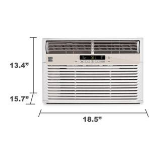 6000 btu air conditioner room size kenmore 6 000 btu room air conditioner window unit white 86052