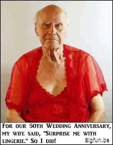 For Our 50th Wedding Anniversary lol! Anniversary humor
