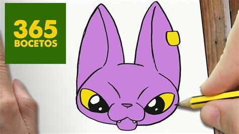 imagenes kawaii de dragon ball z como dibujar bills dragon ball super kawaii paso a paso