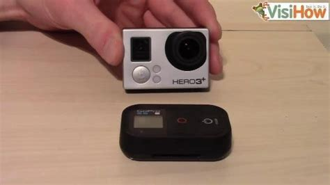 gopro uses connect and use the gopro 3 wireless remote visihow