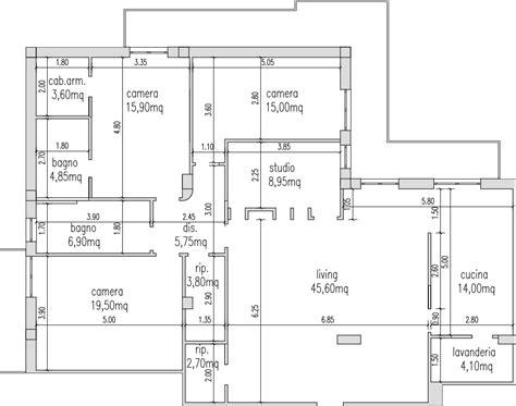 rapporto aeroilluminante uffici progetto 150 mq architettura a domicilio 174