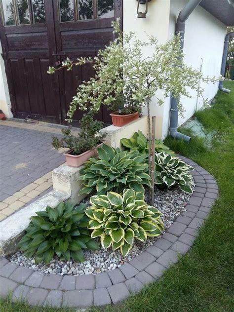 rock garden ideas  small space vorgarten vorgarten